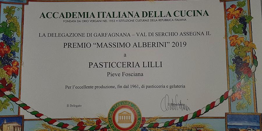 Gelateria Pasticceria Lilli - Abbiamo Vinto il Premio